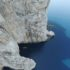 Capo Caccia, west coast, and the entrance to the Nereus cave
